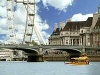 London Sightseeing with London Duck Tours