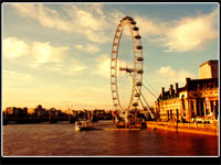 Gift-tours London Eye Wallpaper