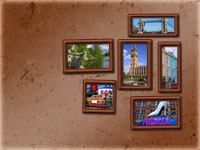 Gift-tours London Frames Wallpaper