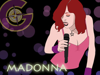 Gift-tours Madonna Wallpaper