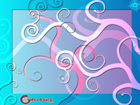 Gift-tours Swirls Wallpaper