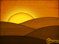 Gift-tours Wooden Sunset Wallpaper