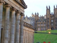 visit Edinburgh overnight