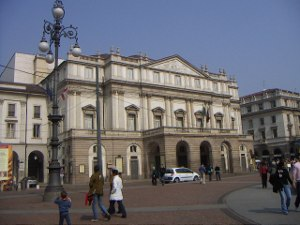 La Scala theatre Milan